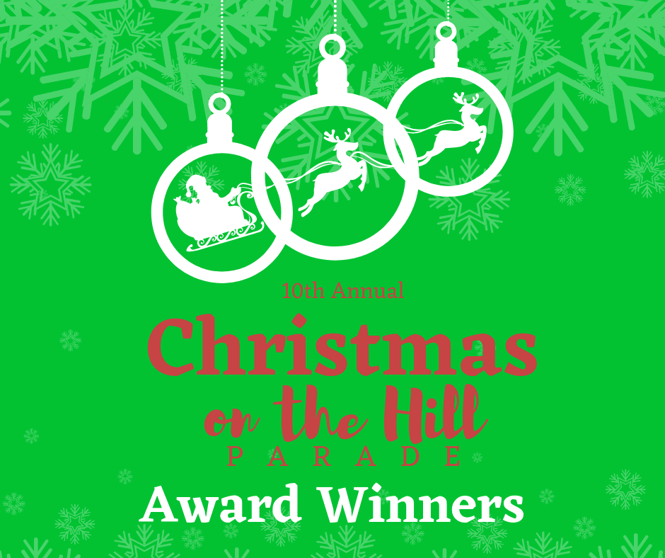 Christmas on the Hill Parade 2018 WINNERS