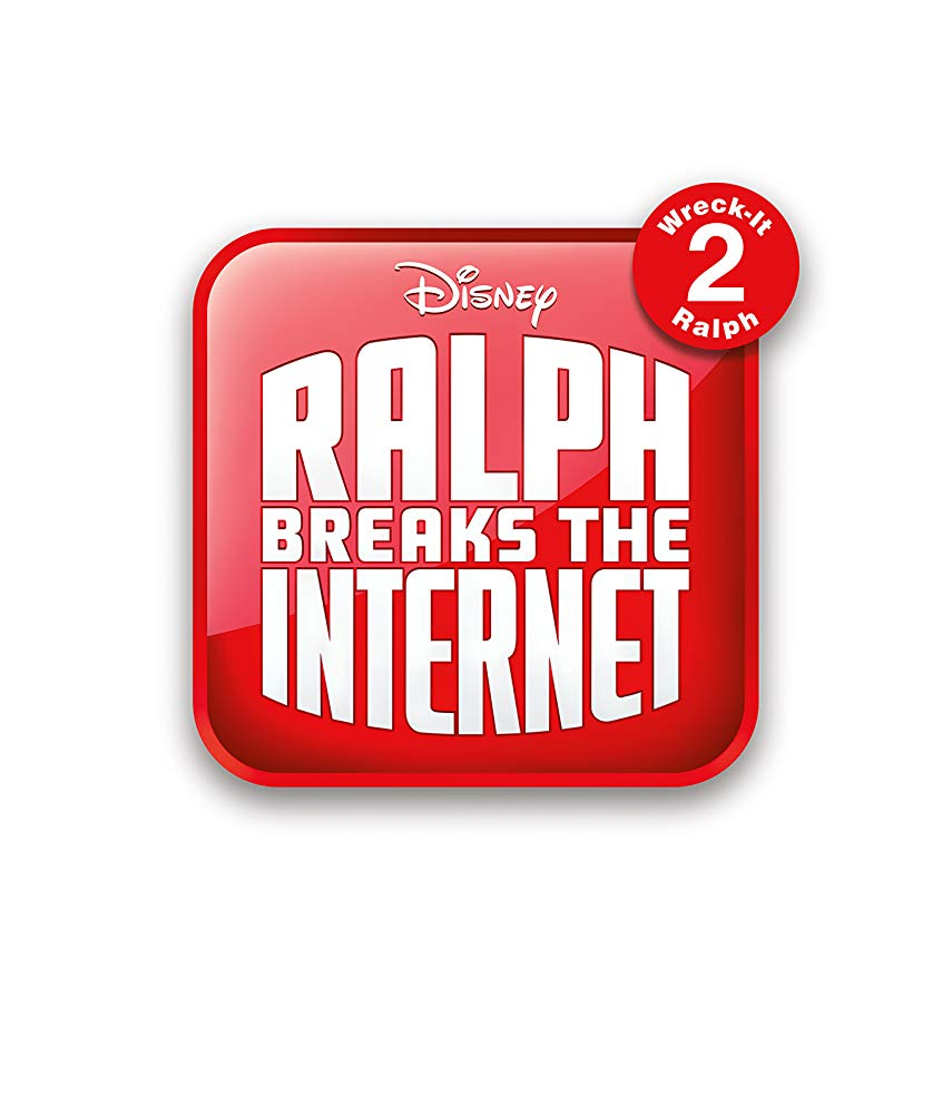 Logo for the movie Ralph breaks the internet