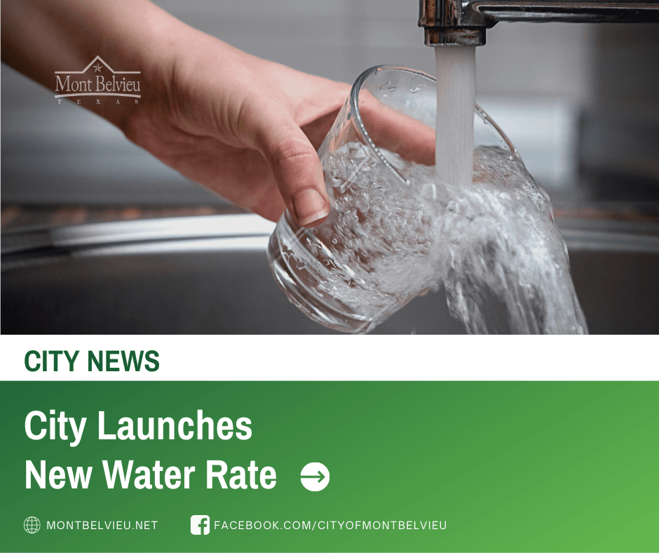 CITY NEWS - City Launches New Water Rate