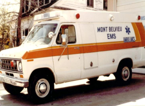 Older model Ambulance