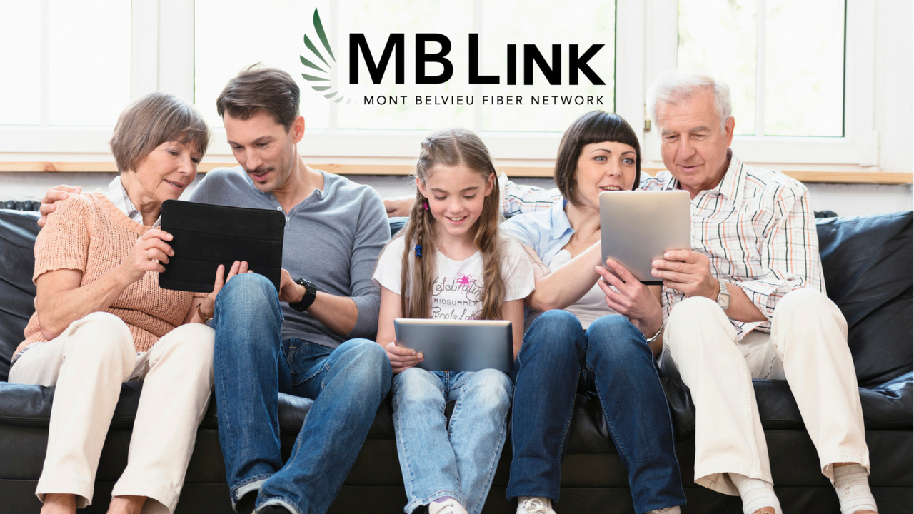 MB Link Family Sitting on Couch