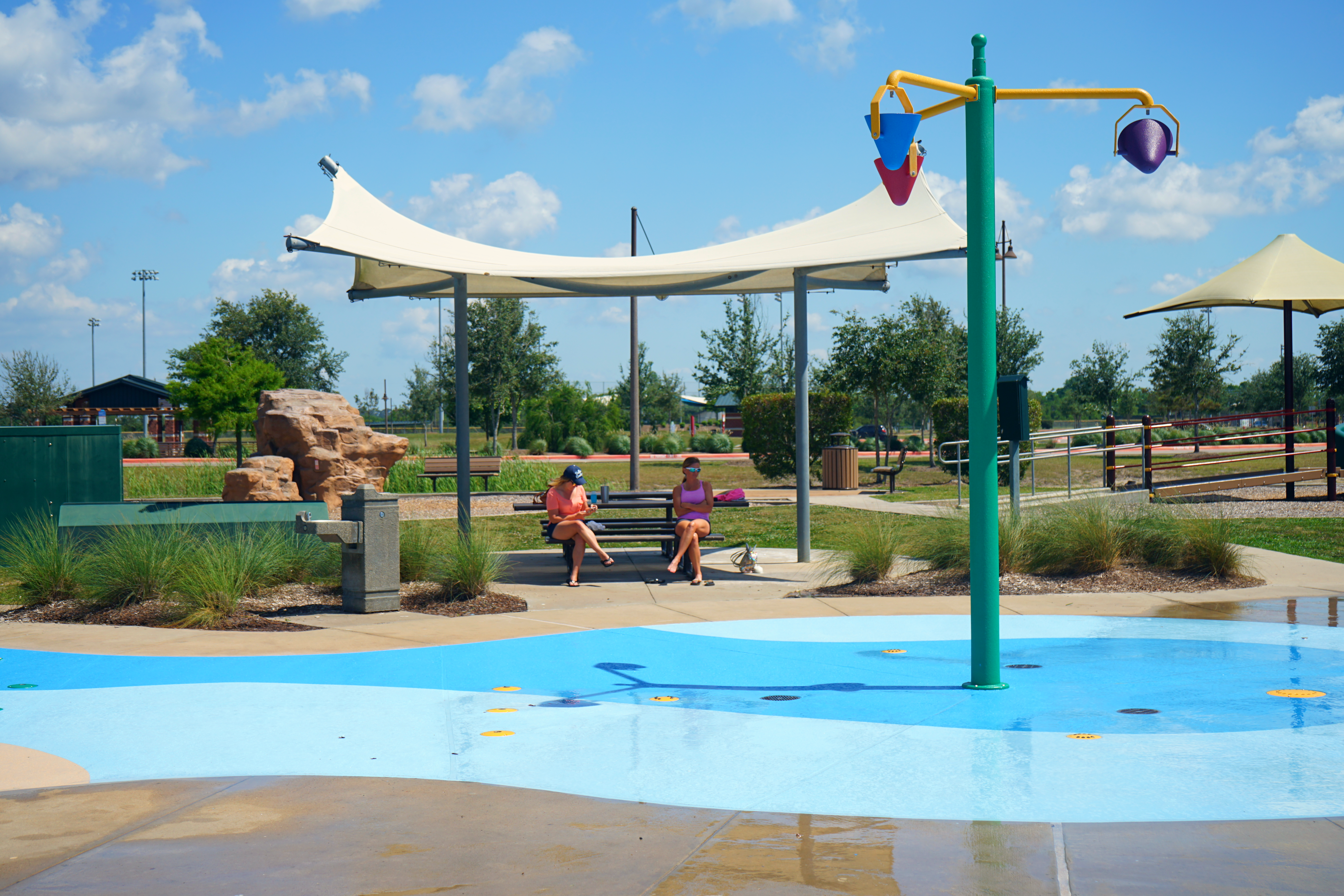 Splash Pad - White Pavilion