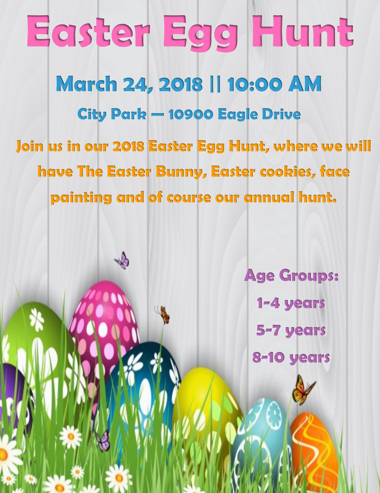 2018 Easter Egg Hunt